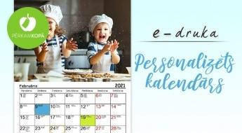 Personalizēts 2021. gada foto kalendārs ar Tevis izvēlētām fotogrāfijām