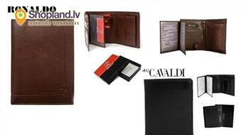 Cavaldi un Ronaldo kompakts kredītkaršu, naudas maks vīriešiem!