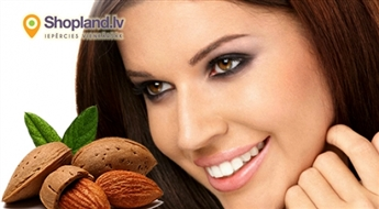 Mona Beauty: mandeļu pīlings saudzīgai sejas ādas atjaunošanai
