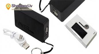 PowerBank ārējais akumulators mobilajām ierīcēm!