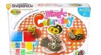 Plastilīnu komplekts jautrākām bērnu rotaļām!
