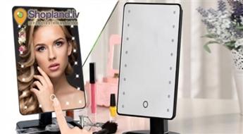LED Spogulis makeup Pretty U vai Pretty U palielināmais LED spogulis!