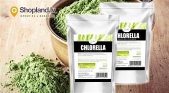 Hlorellas pulveris 500g skaistumam un veselībai