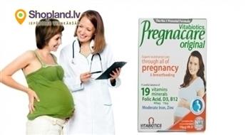 Vitabiotics: Vitamīni Pregnacare mātei un bērnam (30 tabletes)