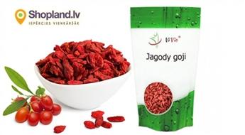 Godži ogas ( 500g, 1kg) - antioksidantu, minerālvielu, vitamīnu, aminoskābju avots!