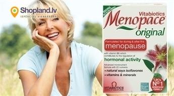 Vitabiotics: vitamīni MENOPACE (30 tabletes)