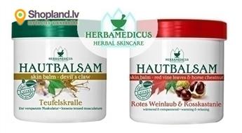 HERBAMEDICUS ārstnieciskie krēmi un balzami ķermenim ar ārstniecības augu ekstraktiem