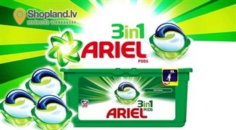 Ariel 3in1 Pods veļas mazgāšanas kapsulas