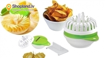 Always Fresh Chips - ierīce čipsu pagatavošanai mikroviļņu krāsnī!