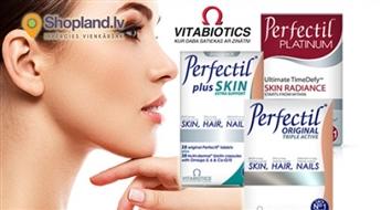 Vitabiotics: Vitamīni PERFECTIL - nagu, ādas un matu veselībai