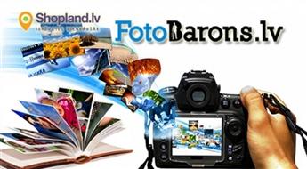 FOTOBARONS: 50 vai 100 foto izdruka (10 x 15 cm)