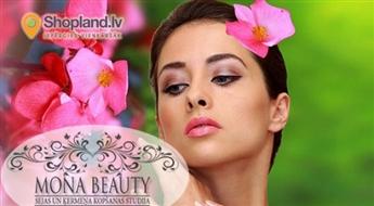 Fotoatjaunošana + piena pīlings  sejas ādas svaigumam salonā Mona Beauty