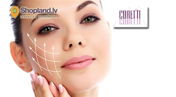 CORETTI: Kosmetologa konsultācija un Tev piemērots sejas ādas tīrīšanas veids ar profesionālo DERMAFIRM+ kosmētiku