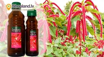 LATVIJĀ RAŽOTA 100% amaranta eļļa (110/250 ml)