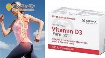 FARMAX: Витамин D - для крепких костей и зубов