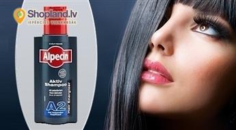 Alpecin A2 Šampūns pret matu izkrišanu un taukainai galvas ādai